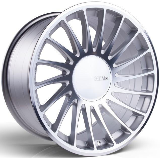 3SDM 0.04 hliníkové disky 8,5x18 5x120 ET35 Silver / Polished face