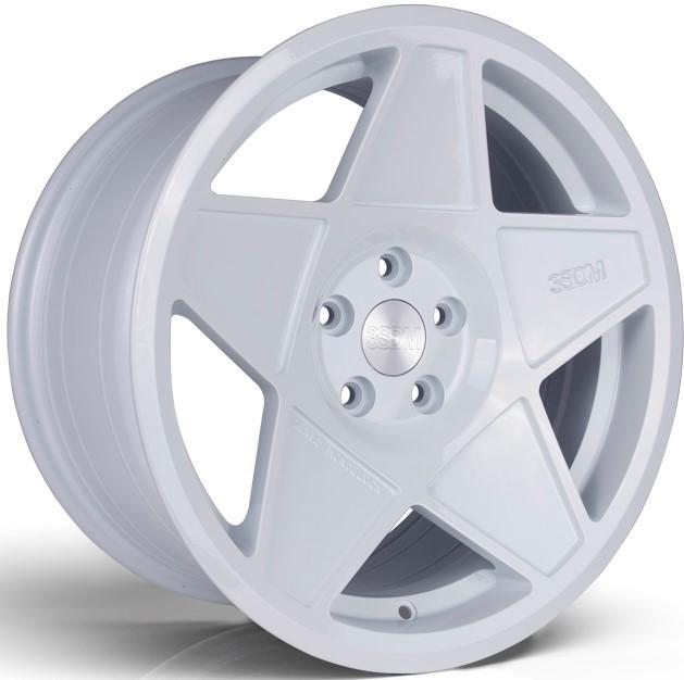 3SDM 0.05 hliníkové disky 8x16 4x100 ET25 White
