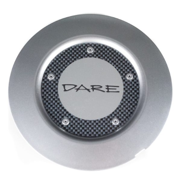 Dare F5 Silver Centre Cap / Central Cover / Center Cap