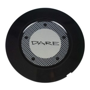 Dare F5 Black Centre Cap / Central Cover / Center Cap