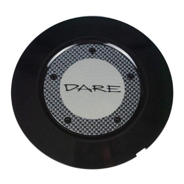 Dare F5 Black Centre Cap / Central Cover / Center Cap