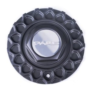Dare RS Matt Black Centre Cap / Central Cover / Center Cap