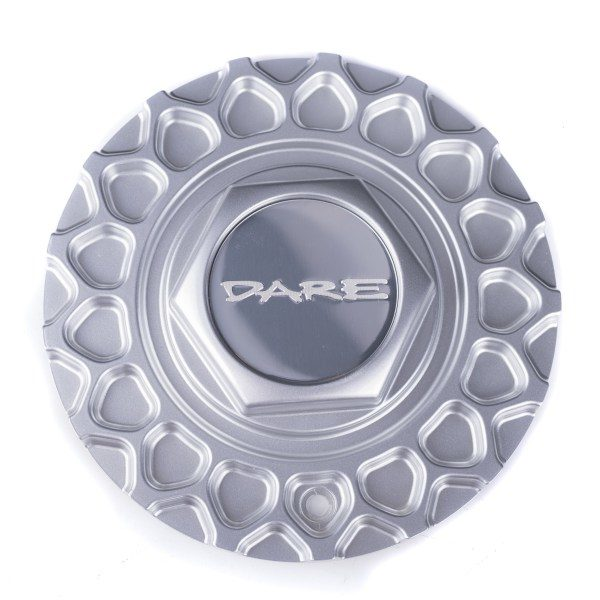 Dare RS Silver Centre Cap / Central Cover / Center Cap