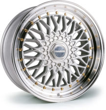 Dare - DR RS (Silver Polished / Gold Rivets)